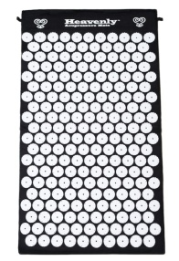 Black Acupressure Mat from HeavenlyMats.com