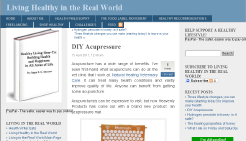 Acupressure Mat Review by Living Healthy in the Real World