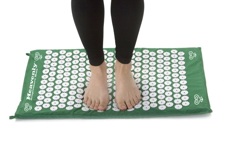 Acupressure mat - feet position