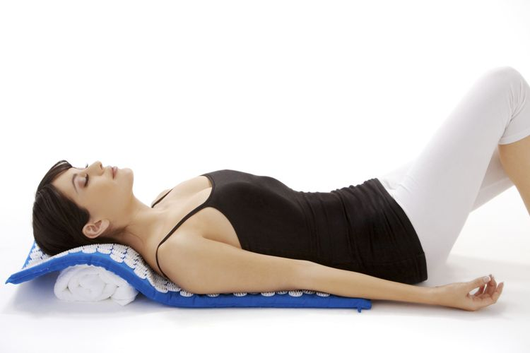 Acupressure Mat _ Back andneck position