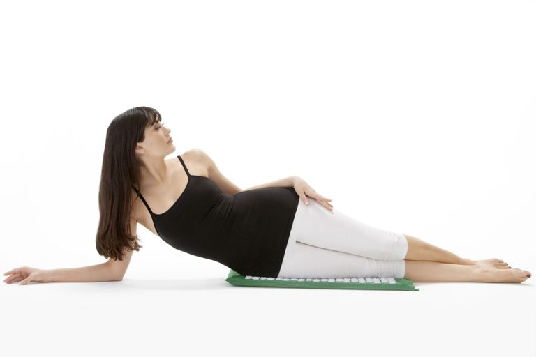 Acupressure Mat - Hip Position